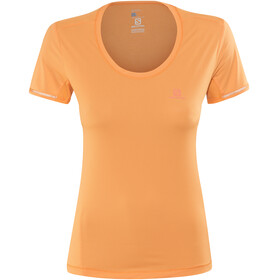 Salomon Agile Running T-shirt Women orange